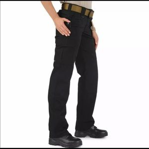 5.11 Tactical TACLITE PRO Black Cargo Pant 4